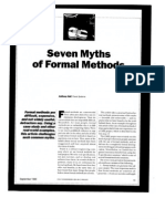 7 mitos dos métodos formais
