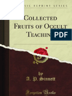 Collected Fruits of Occult Teaching - 9781440060472