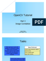 OpenCVTutorial III