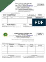 Hanieyah Guro OR DR PRC Format