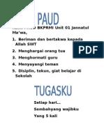 IKRAR PAUD