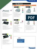 Fax Machines Broucher