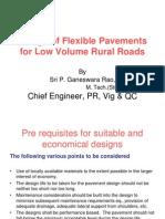 PP1-Design of Flexible Pavement