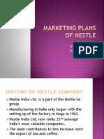 Marketing Plans of Nestle