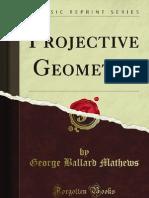 Projective Geometry - 9781451000085