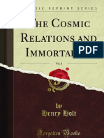 The Cosmic Relations and Immortality Vol 1 - 9781440057724