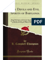 The Devils and Evil Spirits of Babylonia - 9781440085987