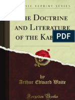 The Doctrine and Literature of the Kabalah - 9781440088414