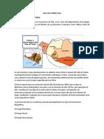 Analisis Del Valle de Tambo