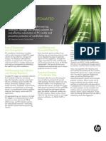 HPEnterpriseSecurity_ProductBrief_HPArcSightPCILogger