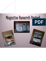 Magazine Research Project