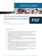 The 'Shale Gas Revolution'- Developments and Changes