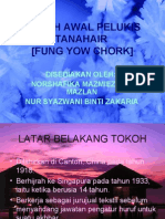 Tokoh Awal Pelukis Tanahair-fung Yow Chork