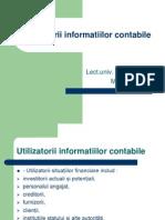 Utilizatorii informatiilor contabile