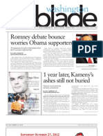 washingtonblade.com - volume 43, issue 41 - october 12, 2012