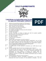 Etoile Flamboyante - Matinisme Cathé App Phil inco
