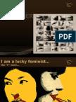 l'Ecriture Feminine (20x20)