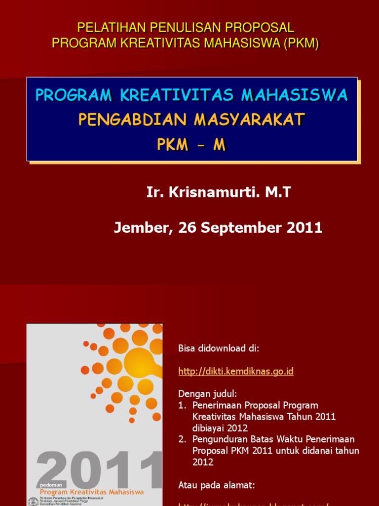 PKM Pengabdian Masyarakat PKMM 20   PDF