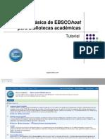 Tutorial de utilización EBSCO
