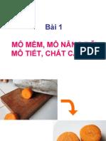 Tt Thuc Vat Duoc - Bai 1 -Mo Mem Chat Can Ba