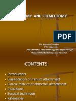 Frenotomy and Frenectomy
