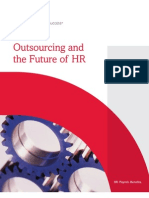 White Paper - Outsourcing the Future of HR - Sept '12