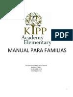 KIPP Academy Elementary School - Family Handbook 2012-13 [Espanol]