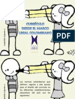 Diseño curricular desde el marco legal colombiano