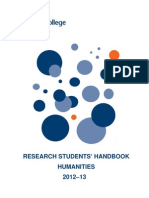 Research Students Handbook