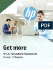 Get More-HP SAP App Management
