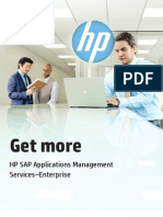 Get More-HP SAP App Management