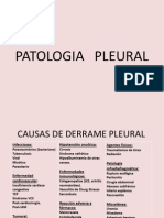Clase de Patología  Pleural