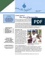 Dreams Newsletter Fall 11