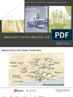 Markham Live - Mobility Hub Technical and Functional Study