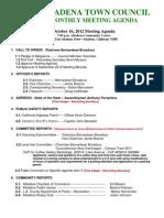 Atc October 2012 Agenda Final