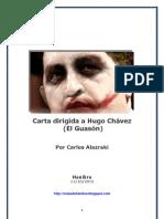 Carta dirigida a Hugo Chávez