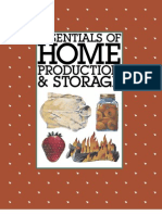 Essentials of Home Production & Storage