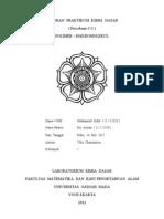 Cover Laporan Praktikum Kimia Dasar