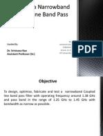 Coupled Line Bandpass Filter