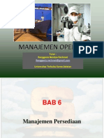 Manajemen Operasi - Chapter 6