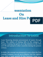 Lease and Hire Purchase 2007