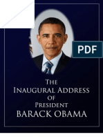 Barack Obama Inaugural Address
