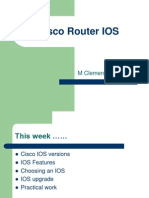 Cisco Router IOS