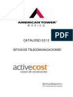 Catalogo 2012 American Tower