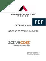 Catalogo 2012 American Tower