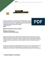 Crónica del Congreso Nacional de Contenidos Educativos Digitales (I)