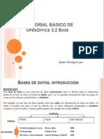 Tutorial de Open Office Base