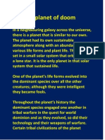 The Planet of Doom by Jason Sinclair