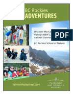 BC Rockies School of Nature Descriptions