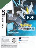 Spielanleitung zu Pokémon Schwarz 2